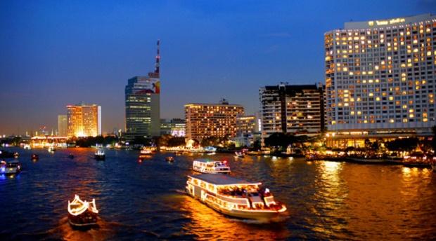 Chao Phraya River in Bangkpk