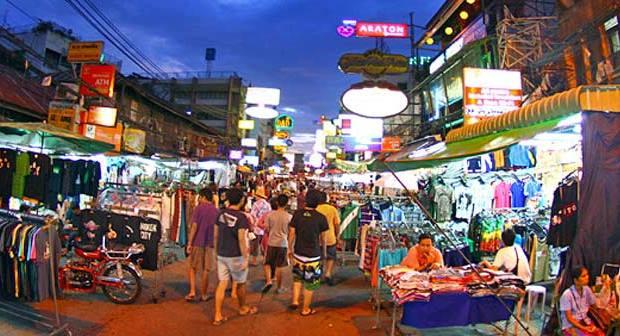 Khao San Road Nightlife
